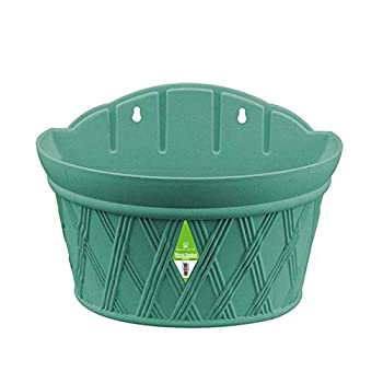 Best half round plastic wall planters Reviews