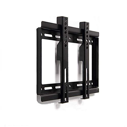 Soportes de Pared para TV Estante para TV Soporte de Pantalla LED/LCD Universal Estampado integralmente, Soportes para estantes Soporte de Pared para TV de 14-32 Pulgadas