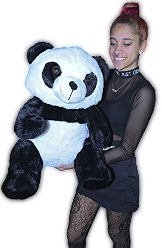 LOYFER Oso Panda de Peluche tamaño Gigante 65cm Osos con Fe