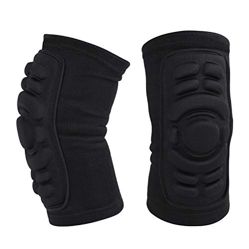 2 Pcs Breathable Elbow Braces Pads Guard Compression Silicone Foam Elbow Padded Arm Supports Shooter Sleeves Protector for Skateboarding Basketball Football