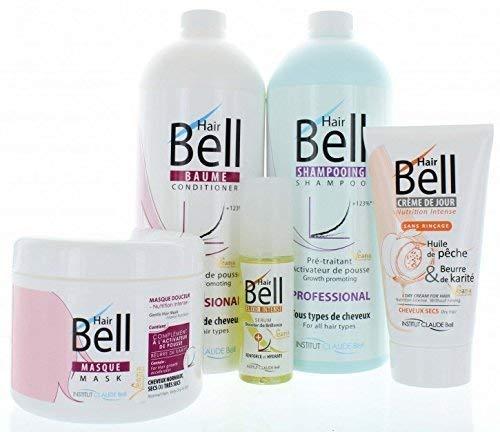 HairBell Shampoo + Conditioner + Maske + HairCream + Serum/HairJazz/Hair+