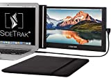 SideTrak Slide Portable Monitor 12.5' Screen with Carrying Case - Attaches to Your Laptop for Easy Travel - Efficient USB Power - Fits Mac and PC 13'-17' Laptops - Full HD IPS Display (Patent Pending)