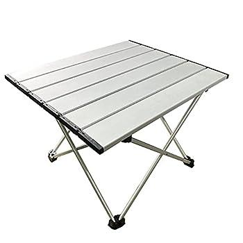 Table De Camping Portable, Table Pliante Légère Avec Aluminium Table Et Sac De Transport Pour L'extérieur, Camping, Pique-nique, Barbecue, Plage, Pêche