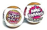 5Surprise Mini Brands Gold Rush Collection Exclusive Mini Brand Toys!! Ultra Rare Gold Mini Ball!!