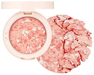 [The Face Shop] Marble Beam Blush & Highlighter 7g #02 Coral