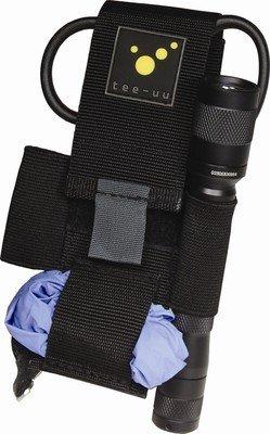 tee-uu ULTRA Kleiderscheren-Holster Minimalistischer Holster für das elementare Equipment. Die sichere Aufbewahrung einer Kleiderschere und einer Pupillenleuchte ist gewährleistet.