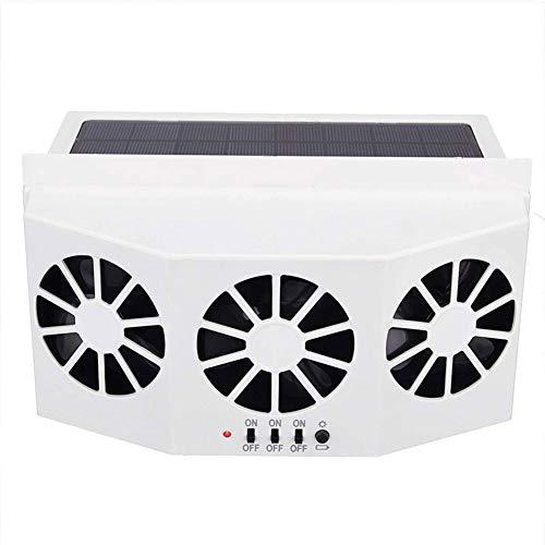 Juntful Solar-Auto-Heizkörper, ABS, energiesparend, Umweltschutz, Entgiftung, Geruchsentferner weiß