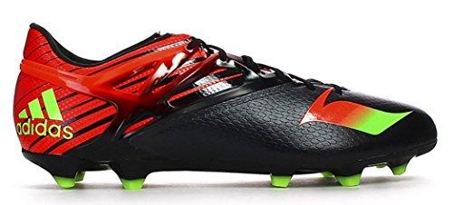 Tacos de fútbol Adidas 6,5 - Messi 15.1 Fg / ag, limo / rojo / negro