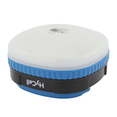 Ansmann 1600-0125 HyCell Camping à LED 4en1 veilleuse, Poche & feu d'avertissement/Lampe de Secours, y Compris Piles, Plastique, Blanc/Bleu