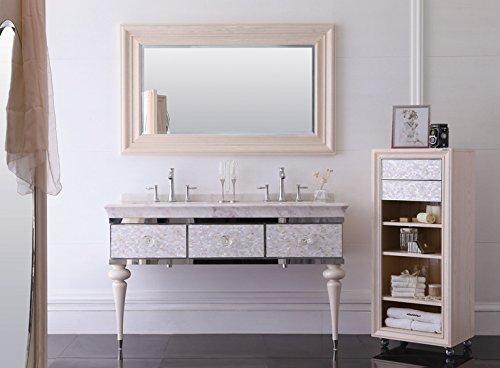 Meuble de salle de bain design en marbre