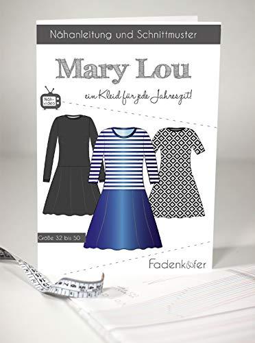 Schnittmuster und Nähanleitung - Damen Kleid - Mary Lou
