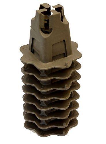 Preisvergleich Produktbild 8 x Betonstahl Gitterträger / Stühle(per 1m2) 40 / 50mm Gradeplate distanzscheiben
