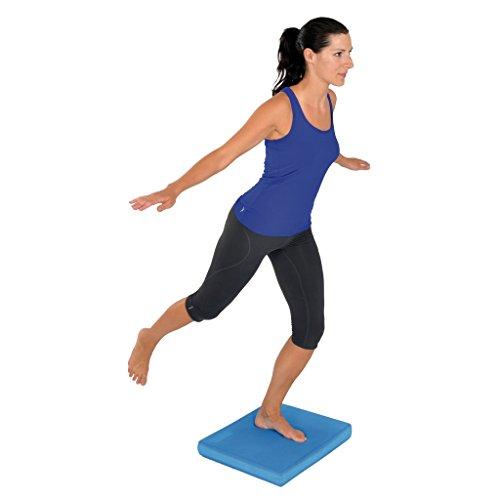 Mambo Max Msd Balance Pad Blu 47x39X6cm Allenamento Gambe Piedi Caviglie Riabilitazione propriocezione Equilibrio Cuscino Tappetino