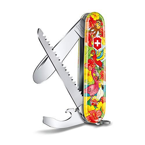 Victorinox Taschenmesser My Frist Victorinox H (9 Funktionen, grosse Klinge ohne Spitz)