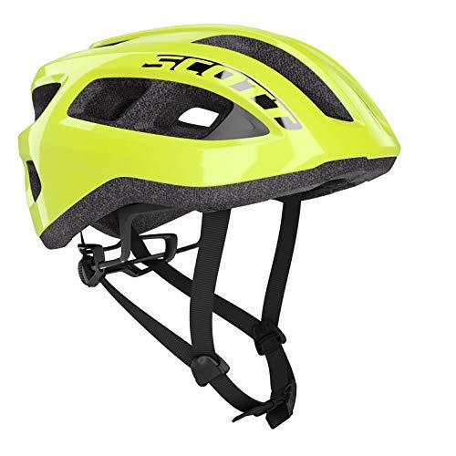 SCOTT 275217 fietshelm, unisex, volwassenen, geel, 1 maat
