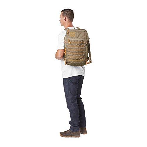 5.11 TACTICAL SERIES Rapid Quad Zip Pack Mochila Tipo Casual, 50 cm, Beige (Sandstone)