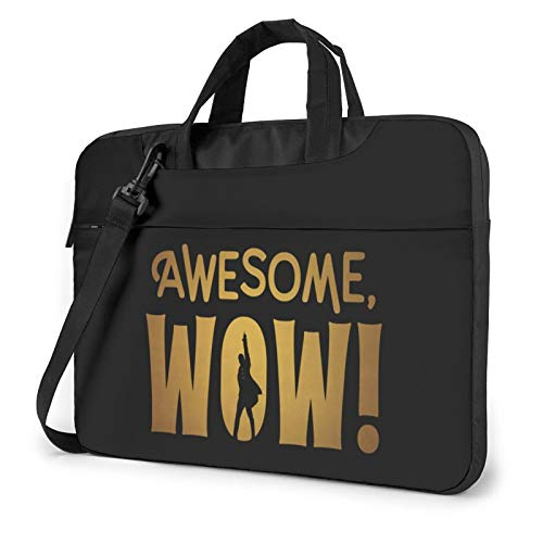 Awesome, Wow! 2021 Laptop Tote Bag, Business Briefcase Computer One Shoulder Shockproof Laptop Bag13/14/15.6 Inch