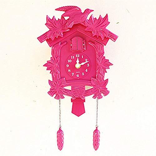 EDCV KlokkenKlok Shabby Chic GiftWandhorlogesWoondecoratie Woonkamer Vintage Wandklok Slinger, stijl 4