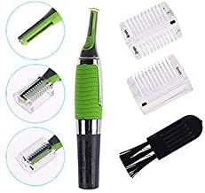 ZOSOE Cordless Touches Nose Trimmer All In One Personal Trimmer,Hair Trimmer Cordless Great For Travel, Nose Hair Trimmer With Built In Led Light nose trimmer for mens(Green_Coloured)