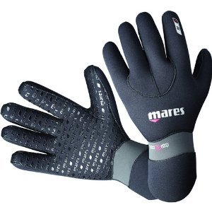 Mares Erwachsene Handschuhe Flexa Fit 5 mm Tauchhandschuhe, Black, S