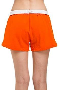 Soffe Juniors  Authentic Cheer Short Orange Medium  1-Pack
