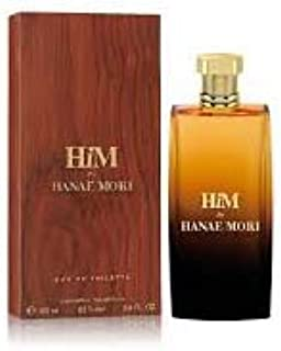 Hanae Mori Him Eau de Toilette Spray for Men, 3.4 Fluid Ounce