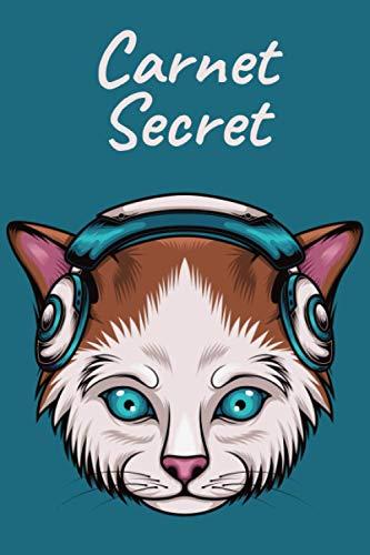 Carnet Secret: Journal Intime ,Carnet Ligné 100 Pages , Trés beau journal pour faire plaisir à votre Fille/Garçon, 6x9,Couverture Matte .