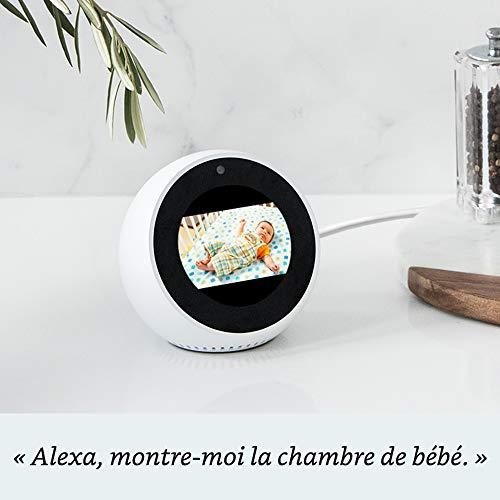 Réveil connecté Amazon Echo Spot 3