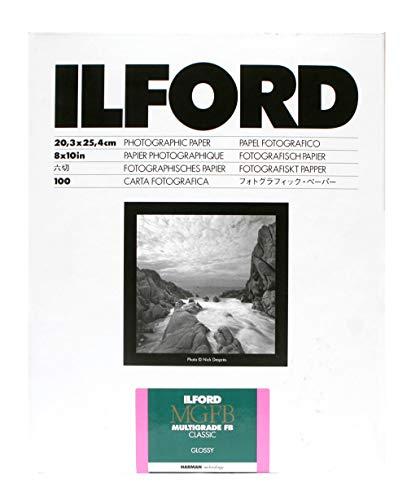ILFORD 白黒印画紙 MGFB CLASSIC 1K 5X7 大カビネ 100枚 1171938