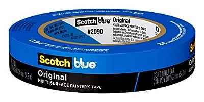 ScotchBlue Original Multi-Surface Painter's Tape, 0.94 inch x 60 yard, 24 Rolls