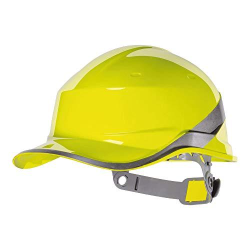 Venitex Deltaplus DIAM5JAFL Form Baseball Industrieschutzhelm, Gelb, Größe Einstellbar, DIAMOND V