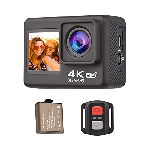 Andoer Action Cam 4K/60fps, WiFi Action...