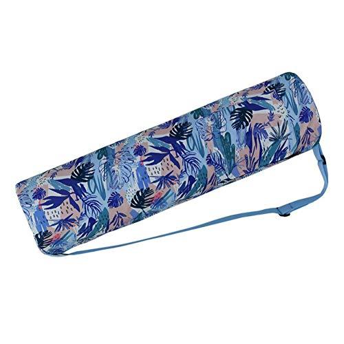 SinceY Tasche Für Yogamatte | Yogatasche | Yogamattentasche - Full-Zip Übung Yogamatte Tragetasche wasserdichte Reißverschluss-Yogamatte Tragetasche mit Aufbewahrungs Tasche für Meisten Yogamatten