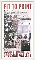 ポスター アーティスト不明 ハーレー Fit to Print2007 collage 額装品 ウッドベーシックフレーム