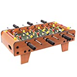 Foosball Tables Wooden Children's Table Football Machine Desktop Table...