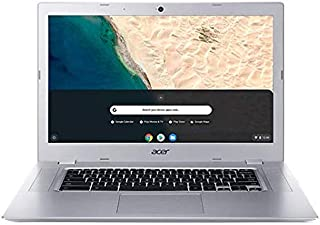 Acer Chromebook 15.6 inch HD Premium Laptop PC w/ 128GB MicroSDXC Memory Card | AMD A4-9120C Processor | AMD Radeon R4 Graphics | 4GB Memory | 32GeMMC | Chrome OS