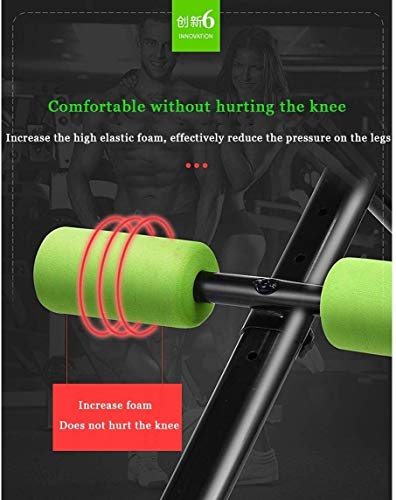 BATOWE BenchUtility Weight Bench Adjustable Weight Benches for Full Body Workout Folding Weight Bench Foldable Workout Bench for Home Gym Exercises Easy Storage Home Fitness red (Color : Red)