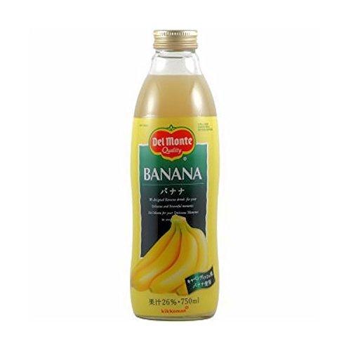 デルモンテ バナナ 瓶 (果汁26%) 750ML [その他] [その他]