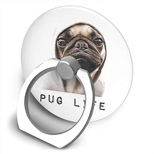 Fighwy FT Carlin Life Support Universel pour téléphone Portable avec Anneau de Fixation Rotatif à 360° pour iPhone, iPad, Samsung, HTC, Google Pixel, Nokia, LG