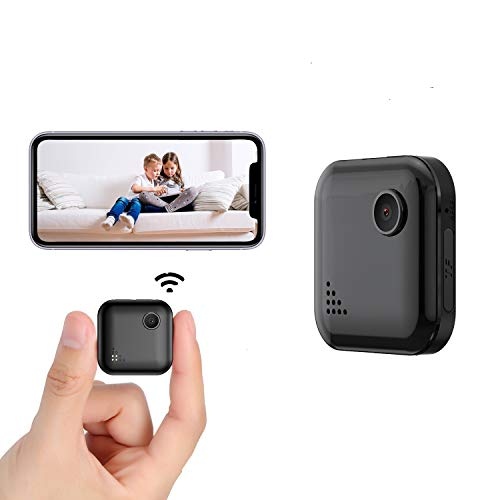 Mini Spy-Camera-WiFi with Audio and Video Recording, OUCAM Wireless Hidden Camera Home Security Nanny Cam Real Time Streaming/No Light Night Vision/Motion Detection(Not Include SD Card) California