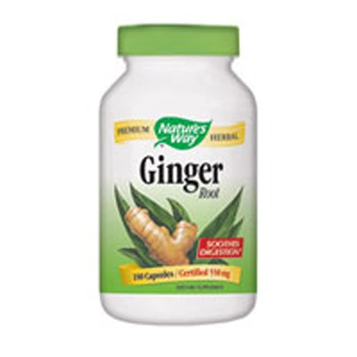 Natures Way Ginger Root