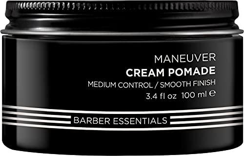 Redken Brews Maneuver Cream Pomade, Stylingcreme für Struktur und Flexibilität, 98 g