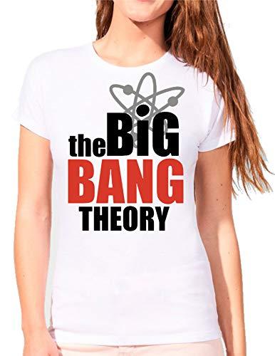 Camiseta de Mujer The Big Bang Theory Sheldon Bazinga Penny Leonard 010
