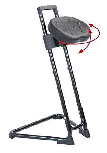 Stehhilfe, Die Standhafte, Modell 3600.01 Gestell und Sitz schwarz
