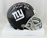 Signed Fran Tarkenton Mini Helmet - NY Giants 61 74 TB w HOF W Auth *Silver - JSA Certified - Autographed NFL Mini Helmets