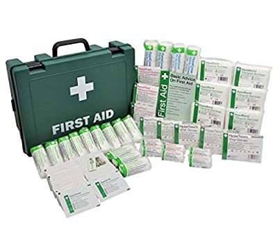 HSE Standard 50 Person Workplace First Aid Kit by Safety First Aid