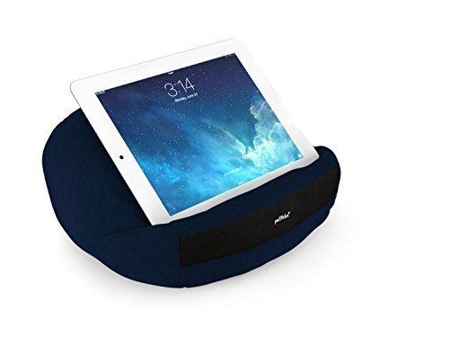 padRelax Pro Marineblau Tablet Kissen bis 12.9 Zoll, Made in Germany, passend für große iPads und Tablets, ideal für Bett, Sofa und Schoß