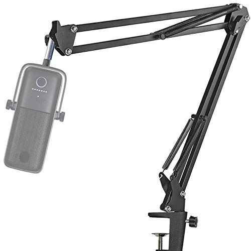 Wave3 Mikrofonständer - Mikrofonarm mit Klipp Montage Kompatibel mit Elgato Wave 3 Mikrofon von YOUSHARES