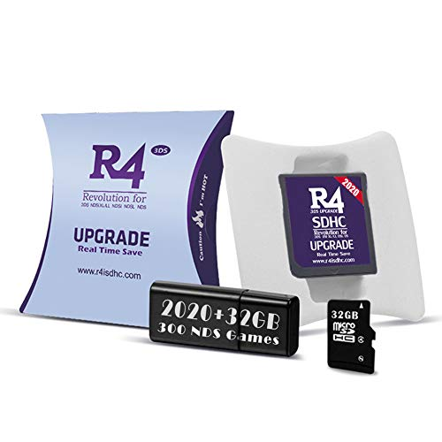 The Silver RTS Lite SDHC Inclus 32 GB SD Card pour DS/DS Lite/DSi/DSi XL / 3DS / 2DS - déjà installé Le Noyau