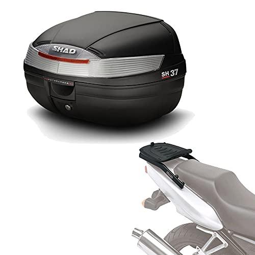 Sh37he145 - Kit fijacion y Maleta baul Trasero sh37 Compatible con Honda CBR 600f 2001-2008